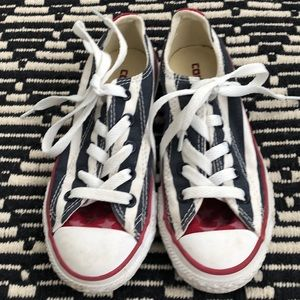 Converse All Star Chucks America Stripe Star